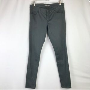 Express Stella leggings jeans charcoal grey size 8